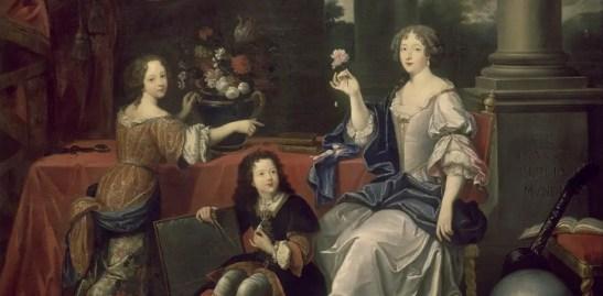 Louise de La Vallière avec ses enfants par Pierre Pignard - Musée du château de Versailles