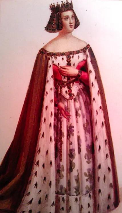Portrait imaginaire de Marguerite de Bourgogne
