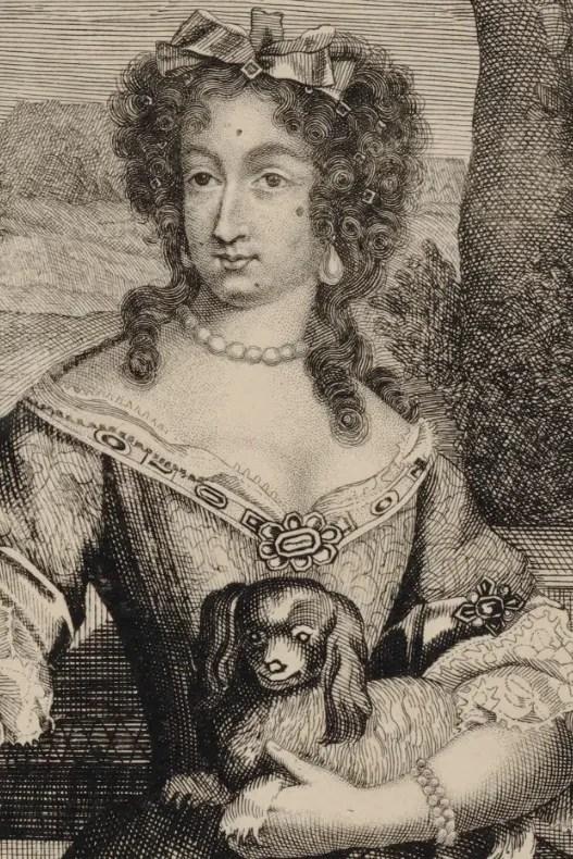 Estampe de la Dauphine Marie-Anne de Bavière - Bibliothèque nationale de France