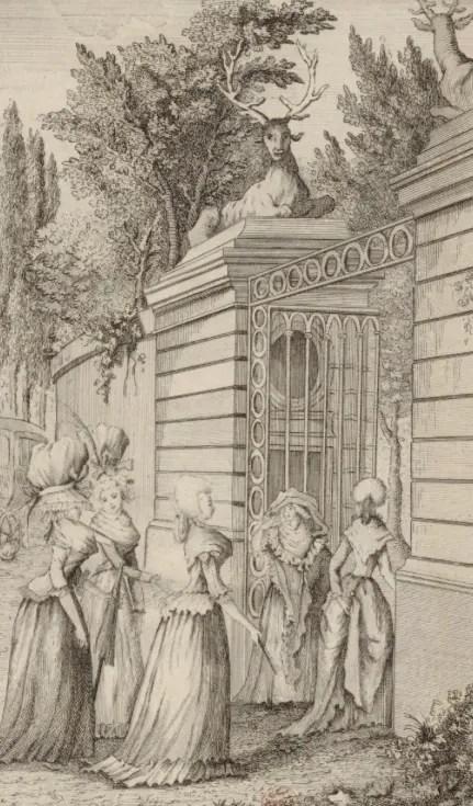 Illustration tirée des Chroniques du XVIIIème siècle