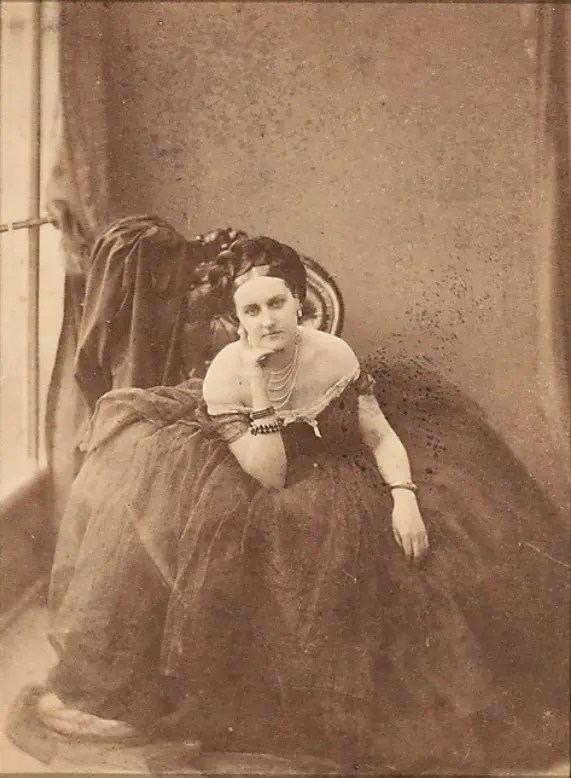 Le Regard (1861 - 1867) - Virginia de Castiglione par Pierson