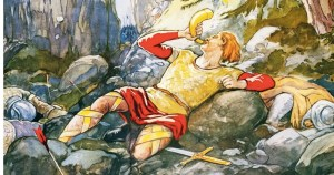 La chanson de Roland, une glorification de Charlemagne