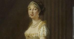 Caroline Murat par Elisabeth Vigée Le Brun