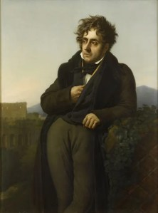 Chateaubriand en 1811 par Girodet-Trioson (collections du château de Versailles)