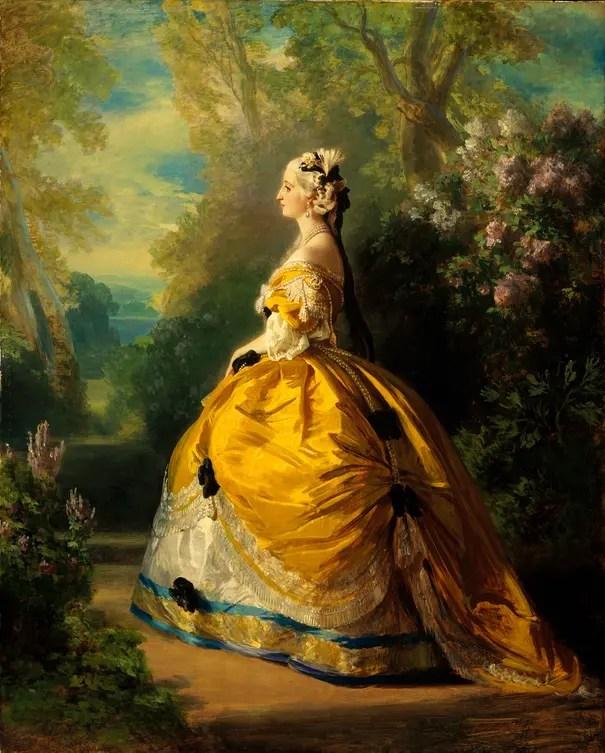 L\u0027Impératrice Eugénie par Franz Xaver Winterhalter (Métropolitan Museum of  Arts)