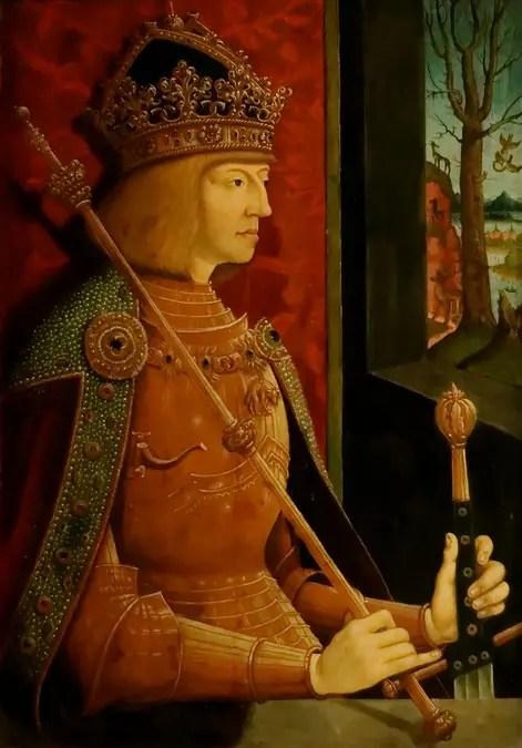 Maximilien Ier de Habsbourg vers 1500 - par Bernhard Strigel