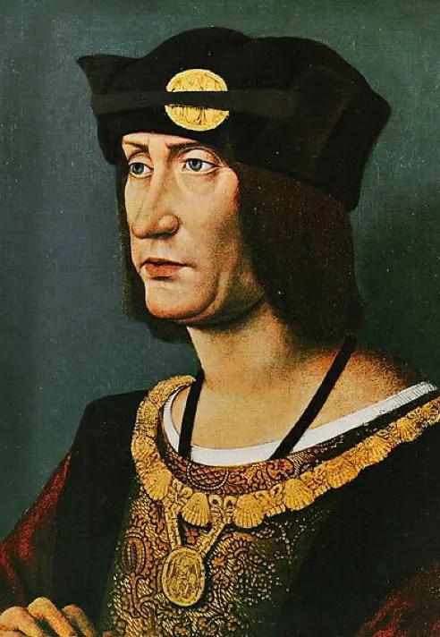 Portait de Louis XII par Jean Pérréal, après 1510 – Windsor, collections de la Reine d'Angleterre