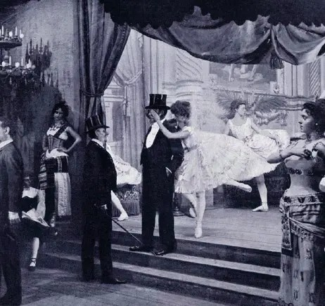 danseuses au XIXème
