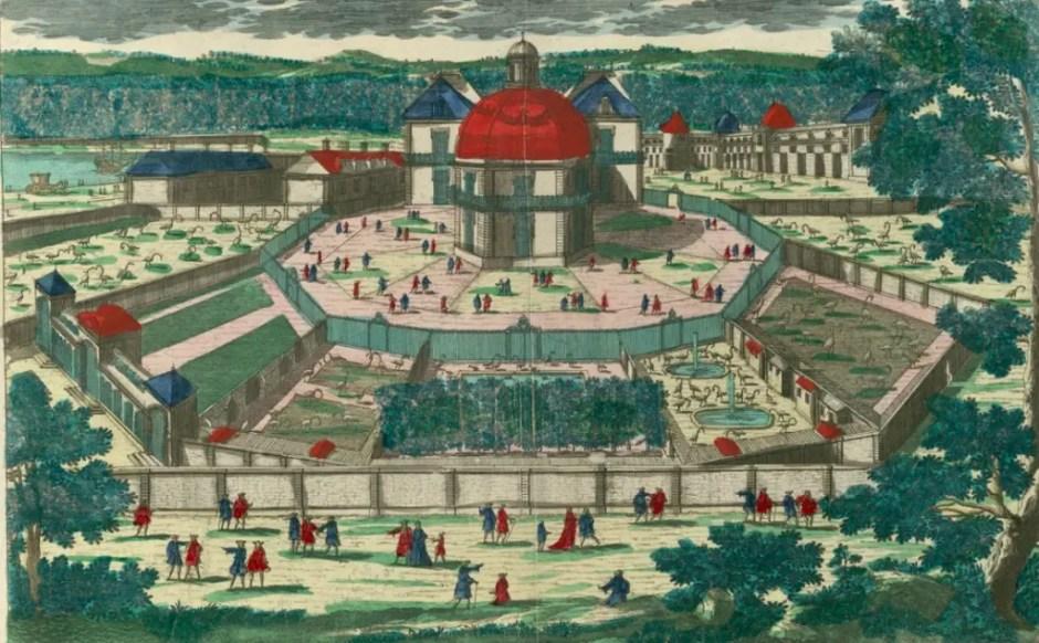 La Ménagerie royale de Versailles sous Louis XIV