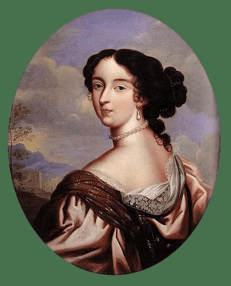 Portrait de Madame de Maintenon (XVIIème siècle)