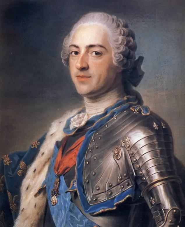 Louis XV par Quentin de La Tour