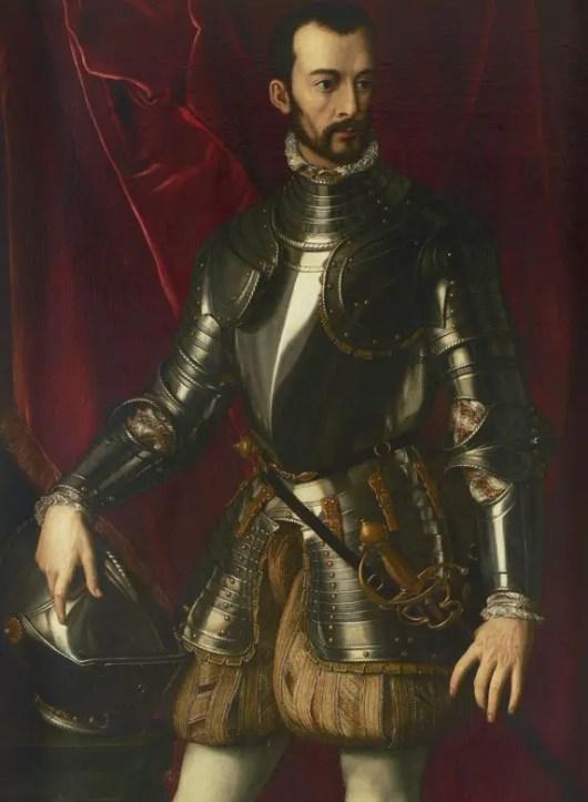 François Ier de Médicis par Alessandro Allori vers 1560