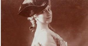 Cécile Sorel, comédienne en plumes et paillettes