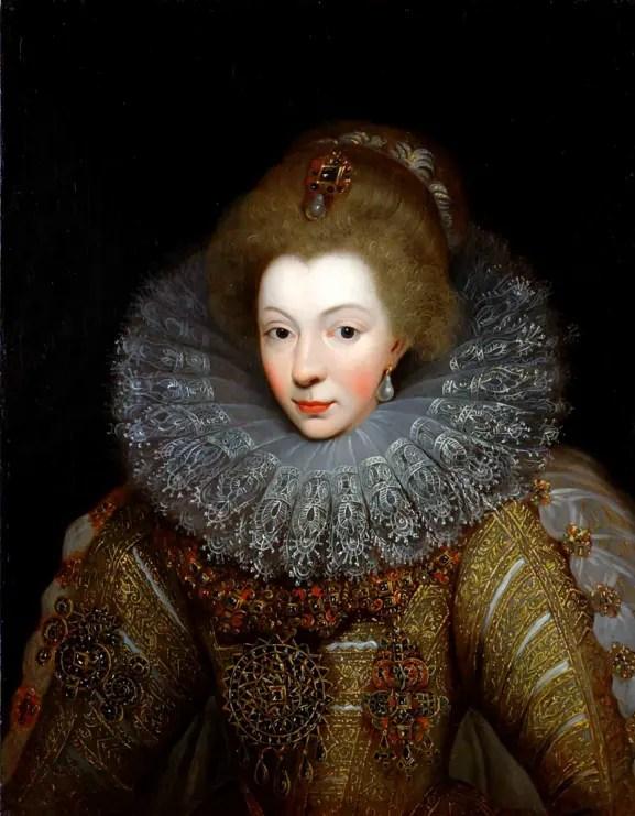 Catherine de Bourbon, soeur cadette d'Henri IV, par Amélie de la Noue Cordelier - Musée du château de Pau