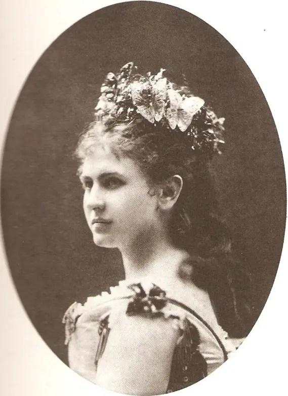 Catherine Schratt fait partie de l'album de beautés de Sissi