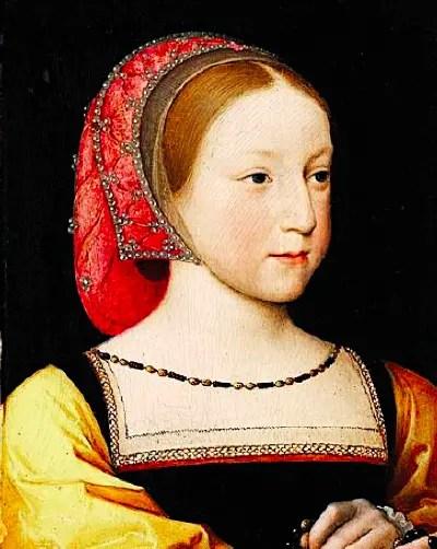 Charlotte de France, fille de François Ier et Claude de France, en 1522 par Jean Clouet