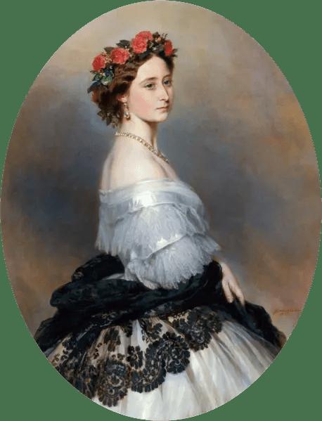 La princesse Alice, fille préférée de la Reine Victoria, en 1861