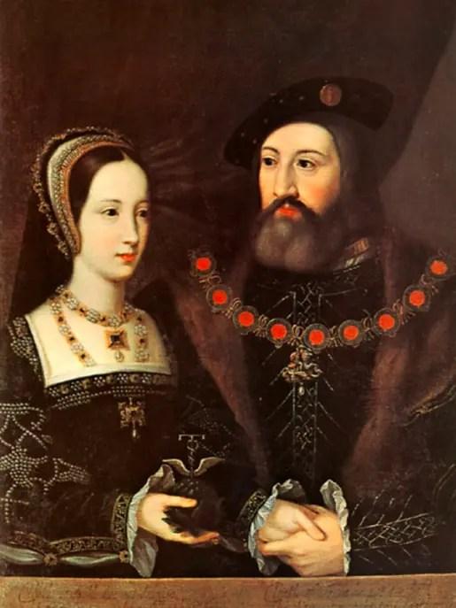 Le duc et la duchesse de Suffolk – vers 1516 – Jan Mabuse, Abbaye de Woburn