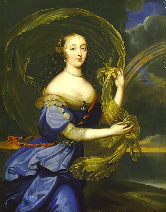 Madame de Montespan en Iris, peinture attribuée à Louis Elle le Jeune – Musée du château de Versailles et Trianon