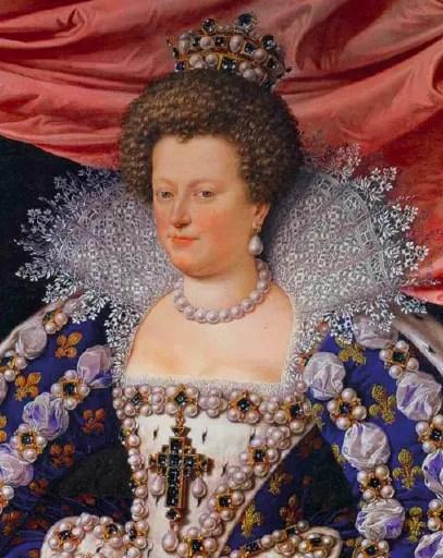 Marie de Médicis en Régente de France en 1611, par Pourbus - Musée des Offices de Florence