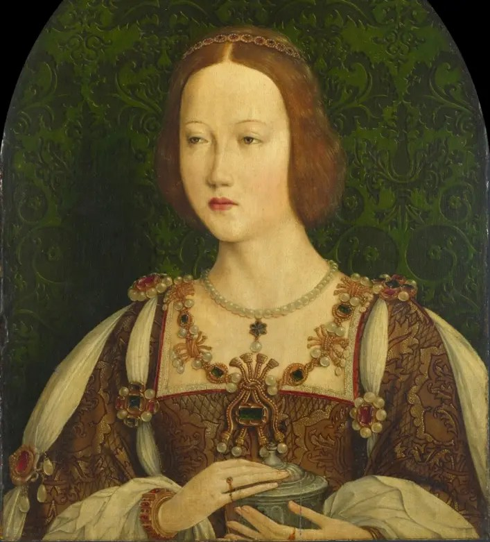 Mary Tudor, Reine de France - Artiste inconnu de l'école française - National Portraits Gallery, London