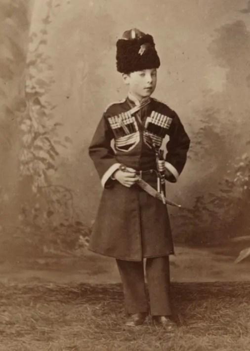 Georges Alexandrovich, premier enfant de Katia et Alexandre II