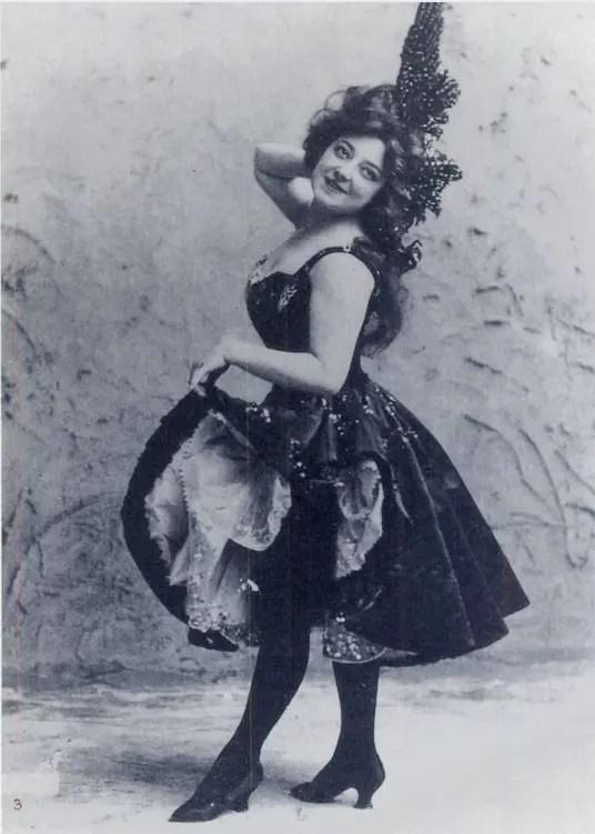 Anna lors d'un vaudeville en 1896