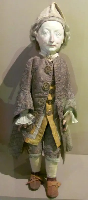 Effigie de Bébé au musée Lorrain de Nancy