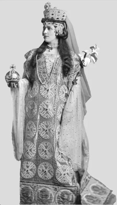 Lady Randolph Churchill dans le rôle de Théodora en 1897