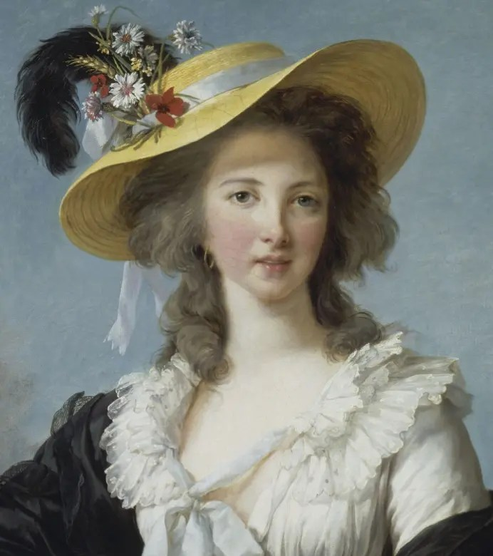Gabrielle, duchesse de Polignac et favorite de Marie-Antoinette, en 1782 par Elisabeth Vigée Lebrun