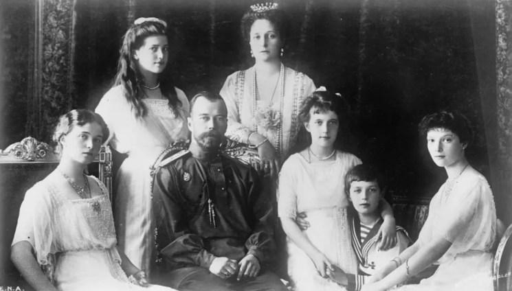 La famille impériale vers 1914