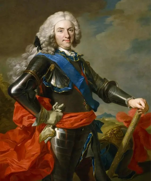 Philippe V, Roi d'Espagne, par Van Loo en 1743