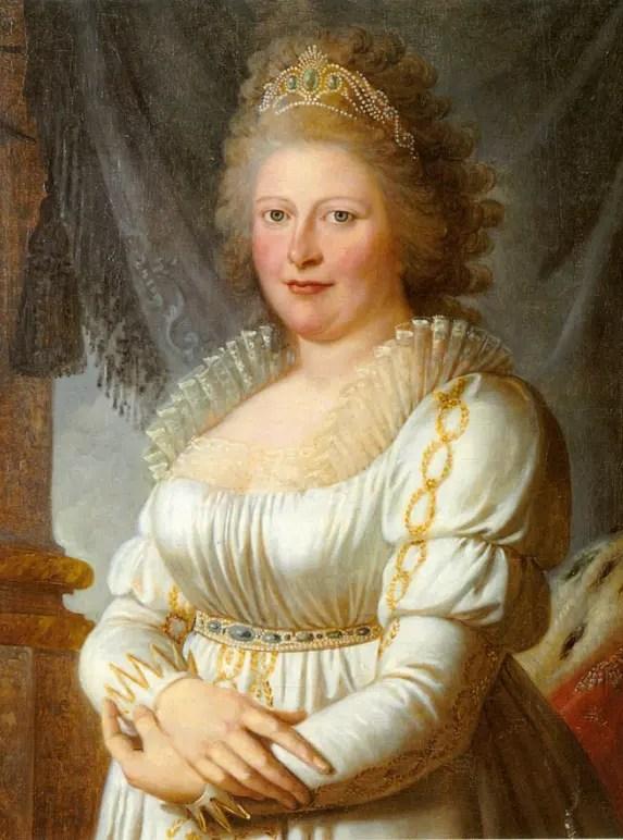La Reine Charlotte de Württemberg (Collection privée)