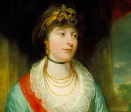 Charlotte, fille aînée du Roi fou George III
