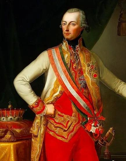 Joseph II peint par Josef Kiss