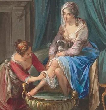 Hygiène à Versailles : bain, dentifrice et chaise percée !