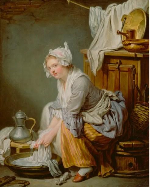 Greuze - La Blanchisseuse (1791)