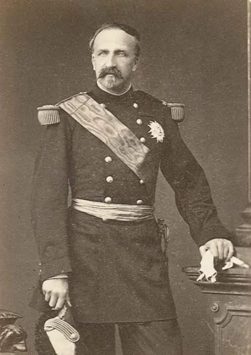 Henri d'Orléans, duc d'Aumale, par le photographe Appert aux alentours de 1870