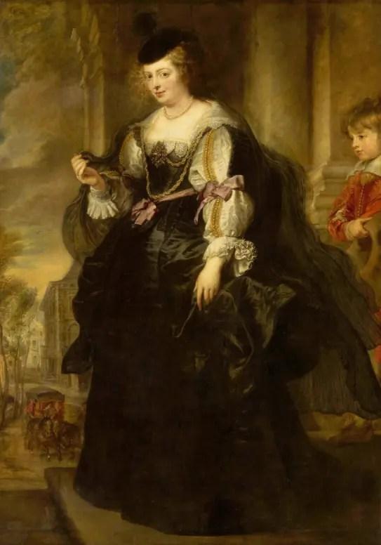 Hélène au carrosse, par Rubens (1639 - Musée du Louvre)