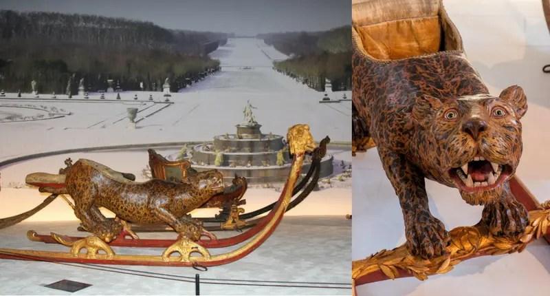 Traineau léopard (Musée des carrosses de Versailles)