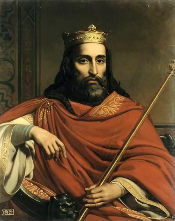 Le Roi Clotaire par Jean-Louis Bézard