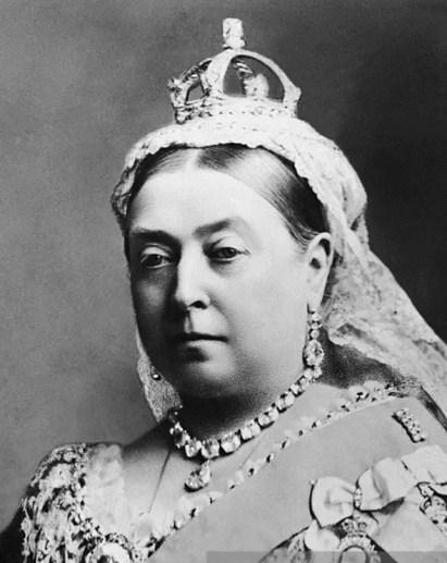 La Reine Victoria en 1887, à l'occasion du Jubilé d'Or