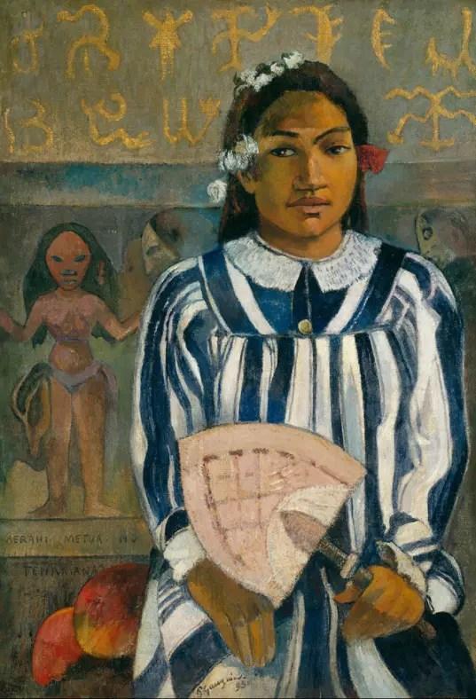 Les Ancêtres de Teha'amana (Merahi metua no Teha'amana) 1893