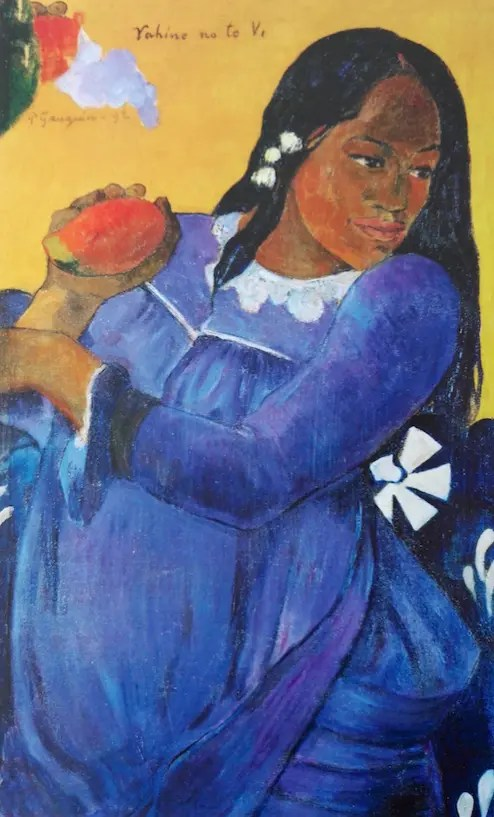 Tahitienne avec une mangue (Vahine no te Vi) 1892