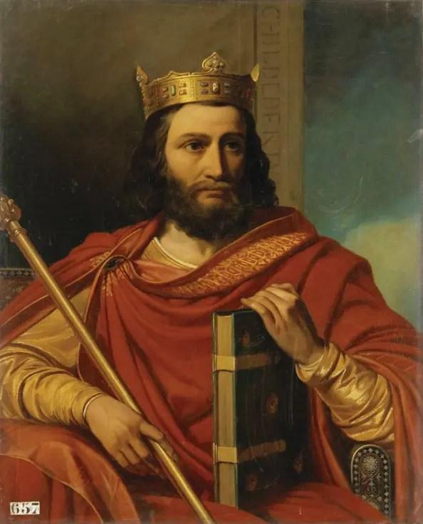 Childebert Ier, Roi des Francs et oncle de Chramne (mort en 558) de Bézard Jean-Louis