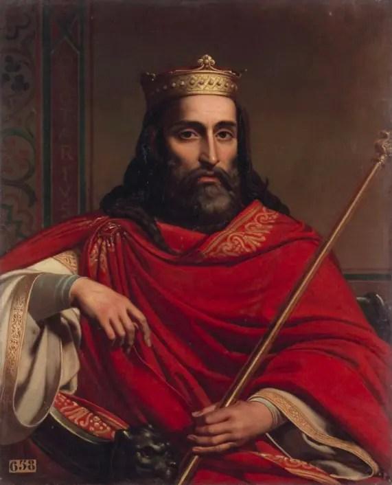 Clotaire Ier, roi des Francs (498-561) par Bézard Jean-Louis