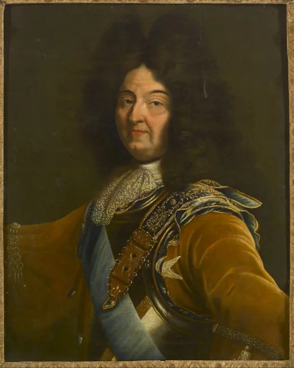 Louis XIV d'après Hyacinthe Rigaud (second quart du XVIIème siècle)