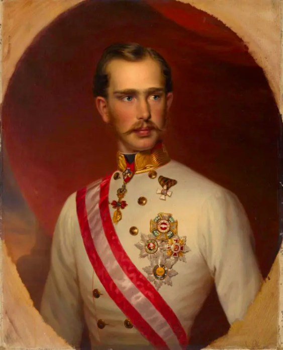 L'empereur François-Joseph vers 1858 par François Schrotzberg