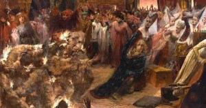 Le Bal des ardents, où Charles VI manqua de brûler vif
