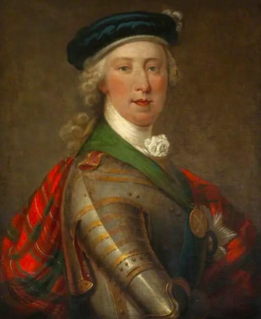 Charles Stuart en leader jacobite des Highlands